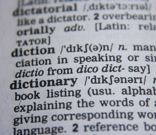 vocabulary dictionary